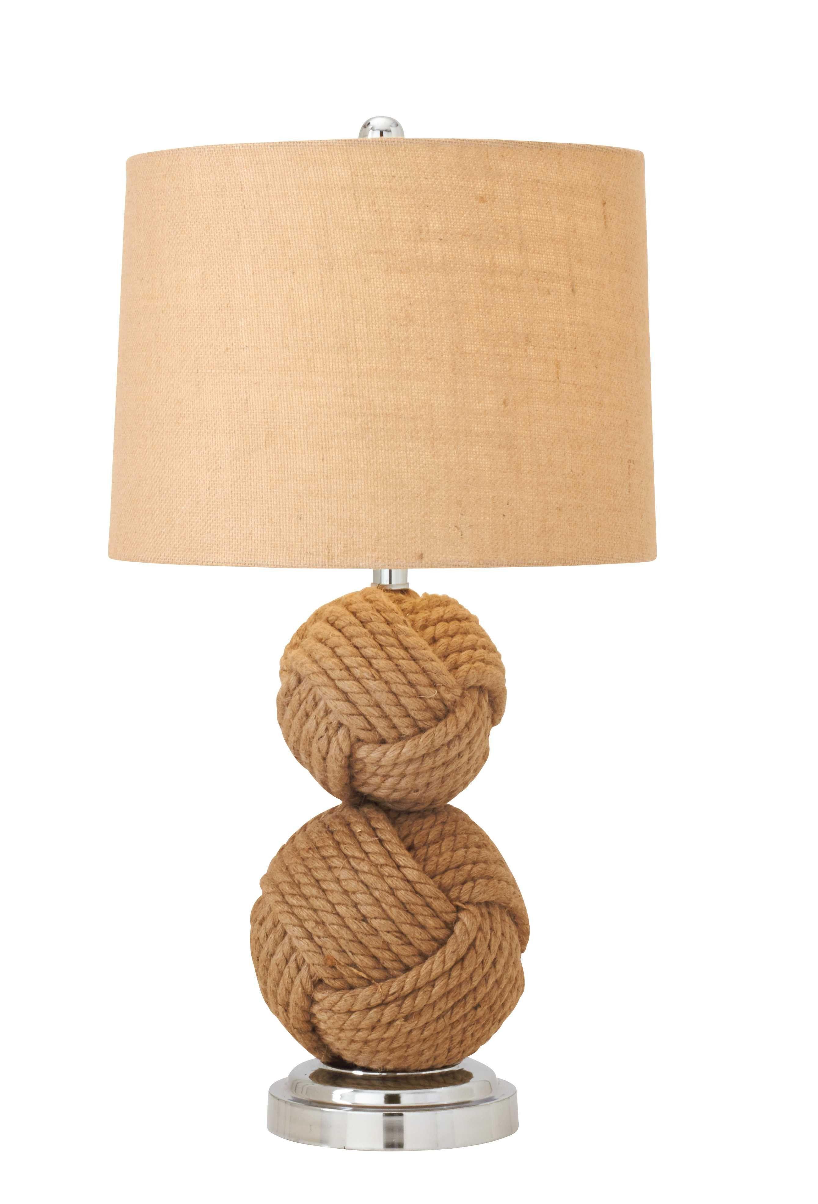 78476 Rope Metal Table Lamp