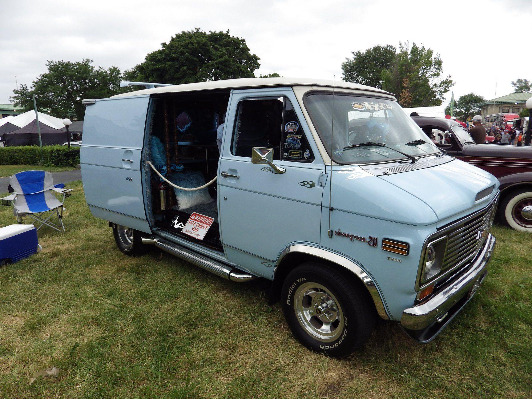 71 77 Chevy Van Chevy Van Vans Custom Vans