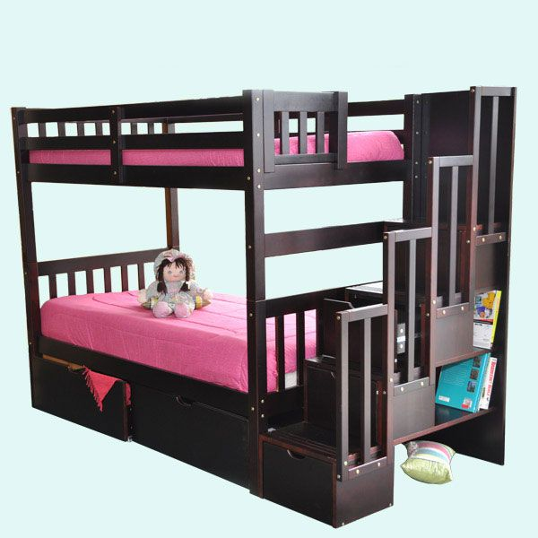 Bunk Beds With Stairs Cheap Discount Beds Bunk Beds Bed
