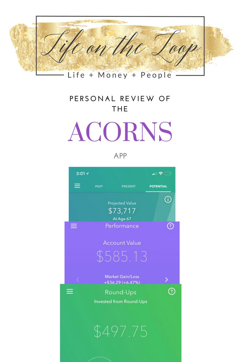 My Personal Review of the Acorns App 2018 Acorns app