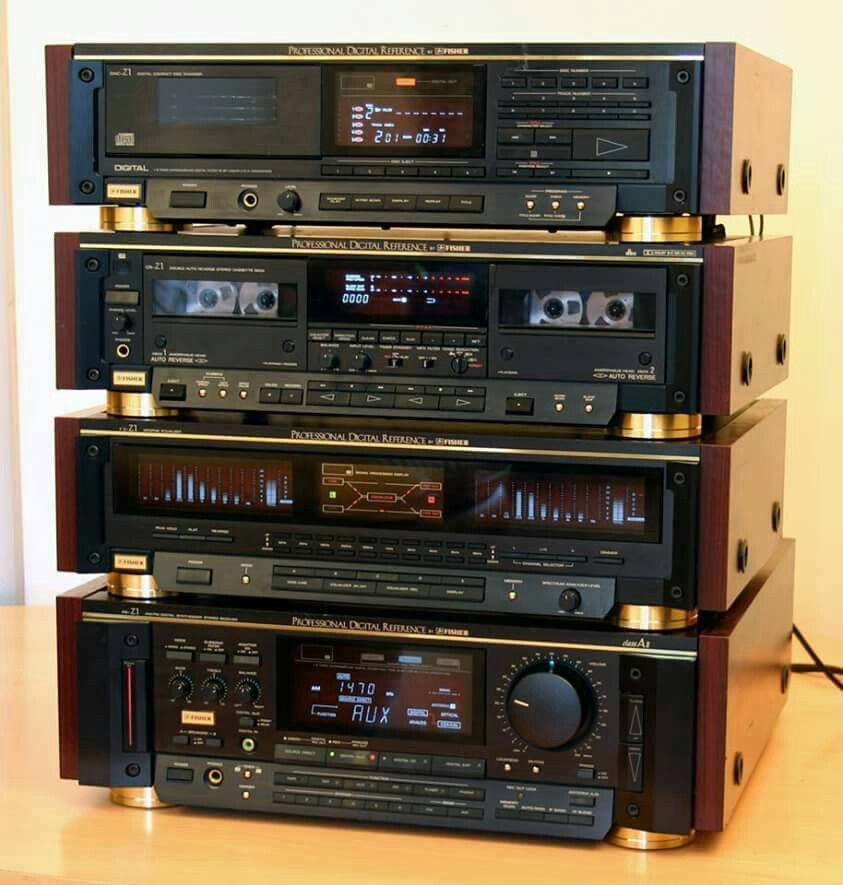 vintage audio fisher hi fi stereo vintage audio love pinterest fisher audio and vintage. Black Bedroom Furniture Sets. Home Design Ideas