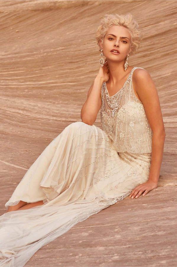 Va Et Vien Jacinda Gown | Vintage style wedding dresses