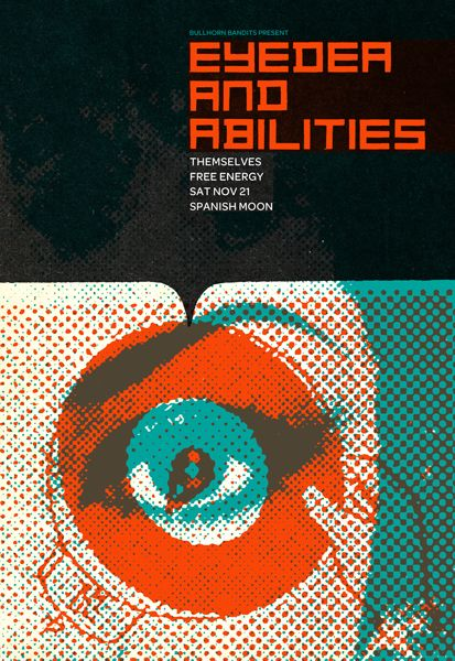 GigPosters.com - Eyedea And Abilities - Themselves - Free Energy