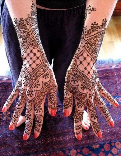 Inspiration Henna Hand Back Design Indian Wedding Henna
