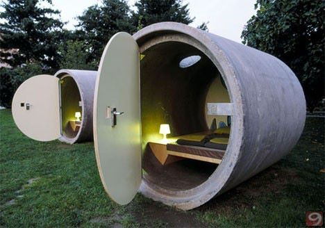 cylinder houses....bombproof?