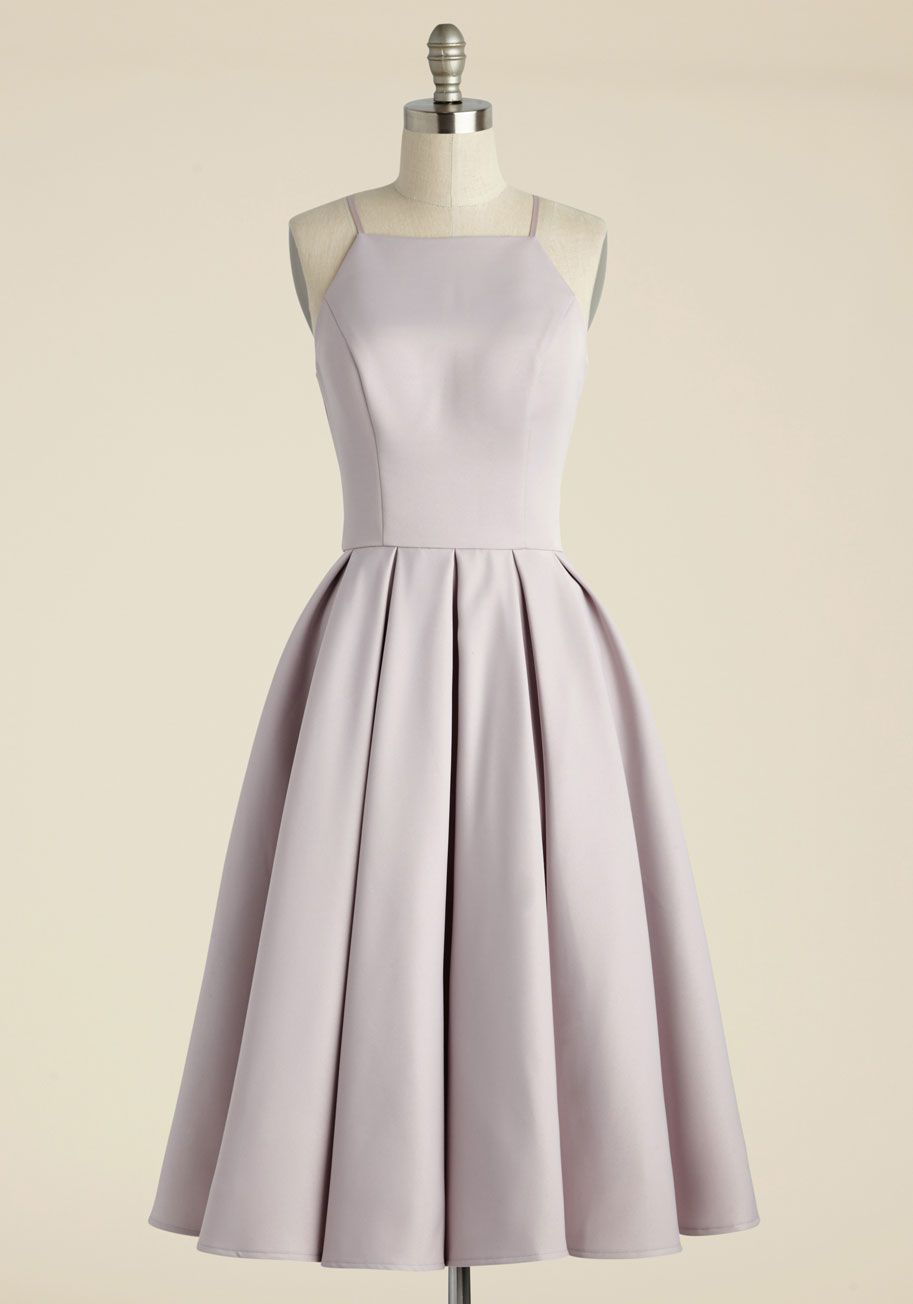 The dress and beyond - Beloved And Beyond Midi Dress In Lilac Modcloth