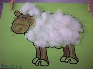 Michis- Kiga- Welt: Projekt: Vom Schaf zur Wolle | Basteln ...