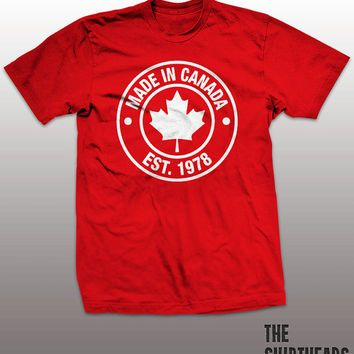 Made in Canada T-shirt - oh canada, toronto blue jays, montreal ...