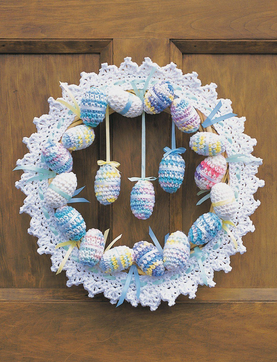 Photo of Crochet Easter Wreath Patterns
