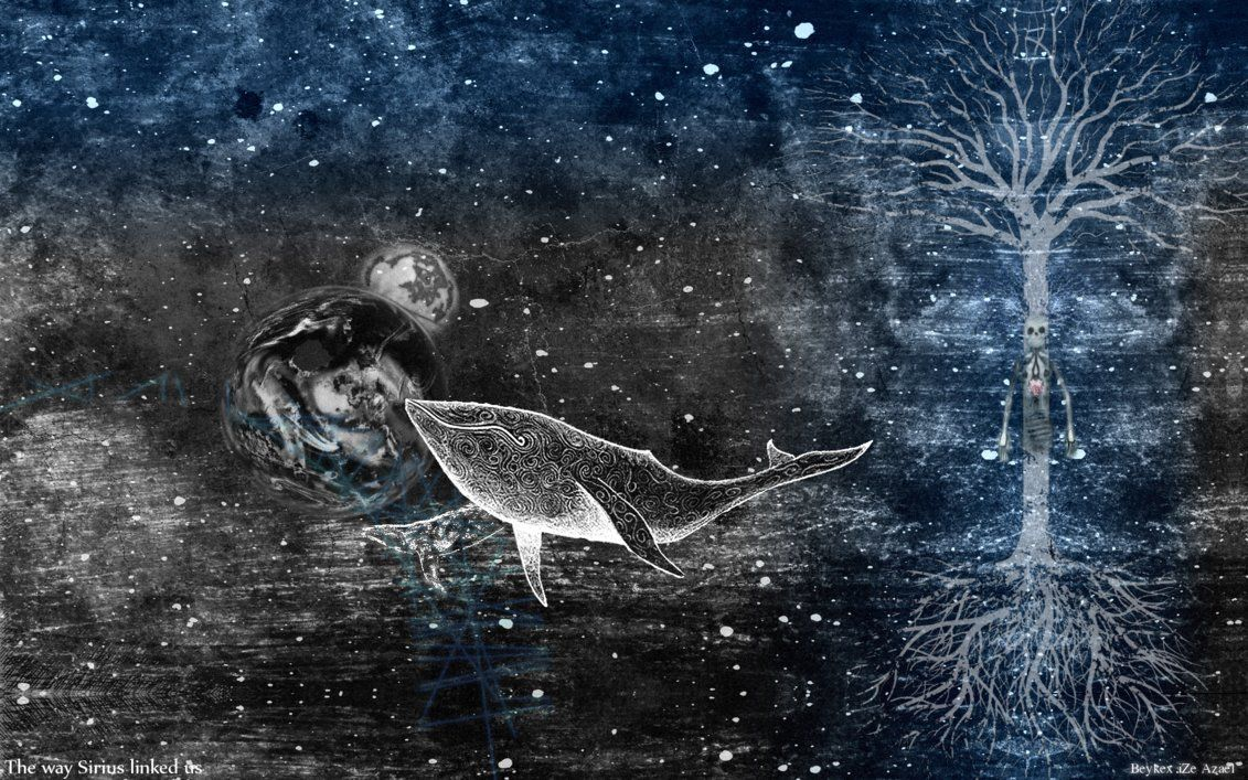 gojira artwork Google Search Whale artwork, Whale