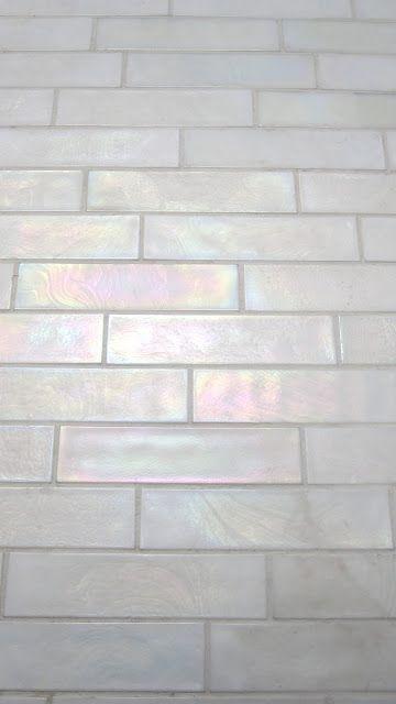 Reader Redesign Light Lovely Loo Iridescent Tile Tiles