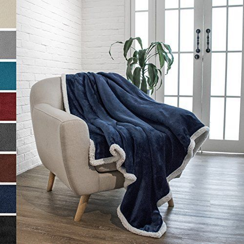 Throw Blankets For Couches Delectable Luxury Sherpa Throw Blanket Soft Warm Comfort Winter Decor Sofa Review