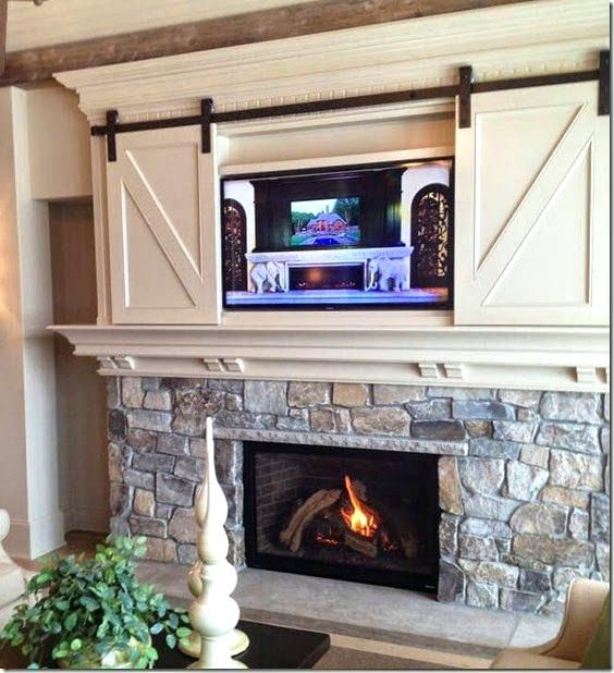 pictures of gas fireplaces with tv above google search fireplace rh pinterest com