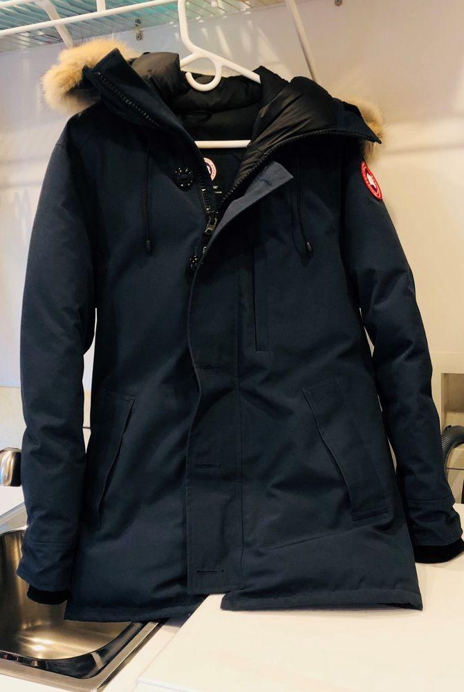 b85ee8670677 ... cheap canada goose chateau parka w fur trimmed hood fashion clothing  shoes 301e0 c6dcf