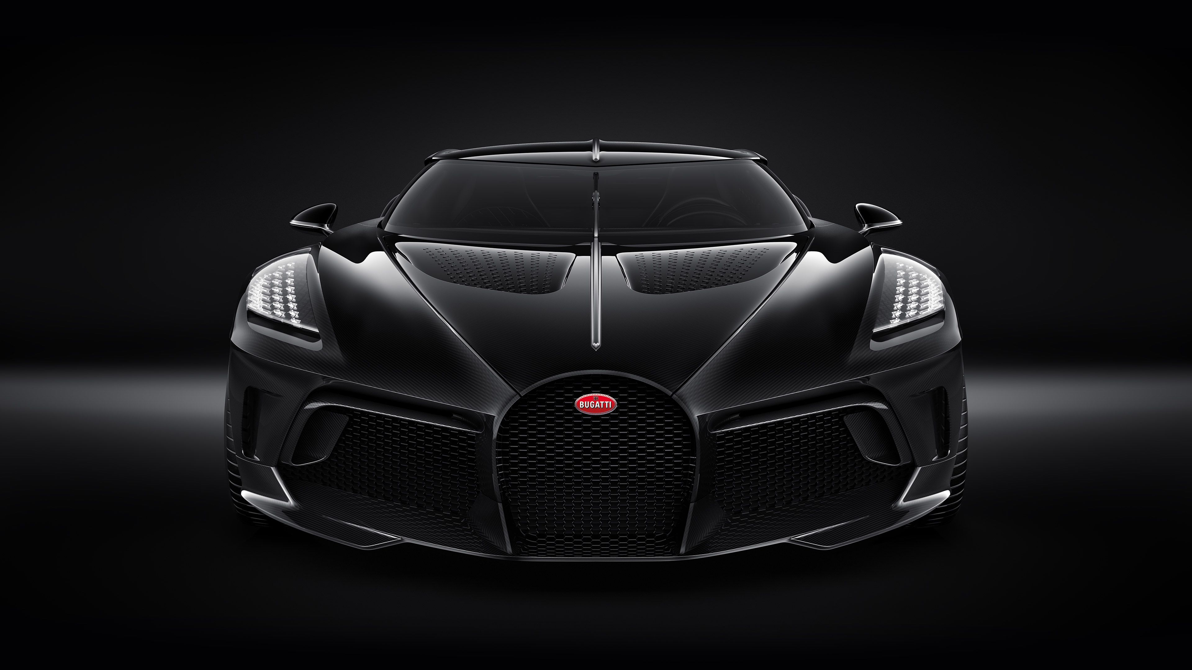 Bugatti La Voiture Noire 2019 Front 4k Bugatti Wallpapers 4k Bugatti Voiture Wallpaper 2019 Bugatti La Wallpaper 4k Black Car Bugatti Cars Most Expensive Car