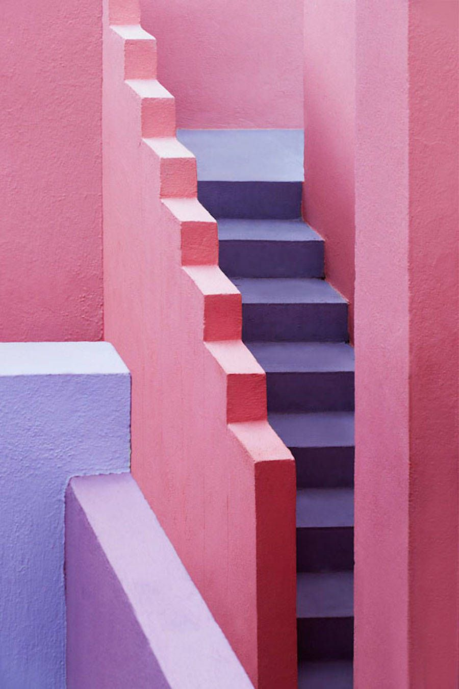 Multicolored Architectural Photography In Spain Architectural