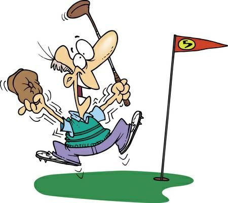 Golfing. Golf clipart free various