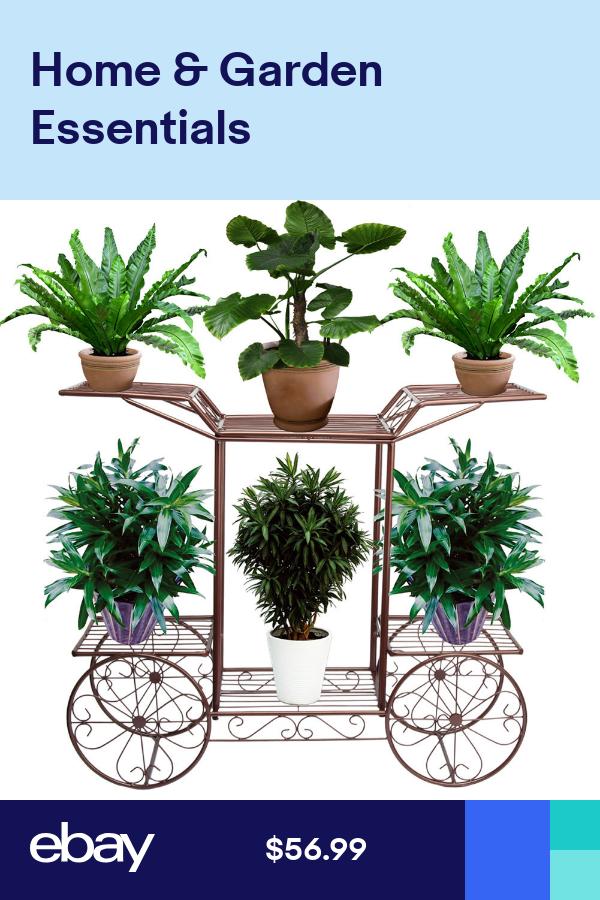 Metal Flower Rack Display Plant Stand