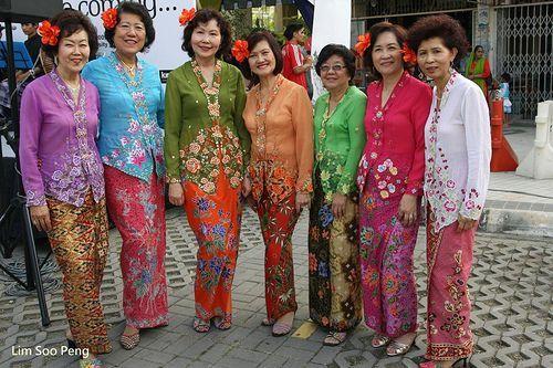 Singapore Traditional Dress