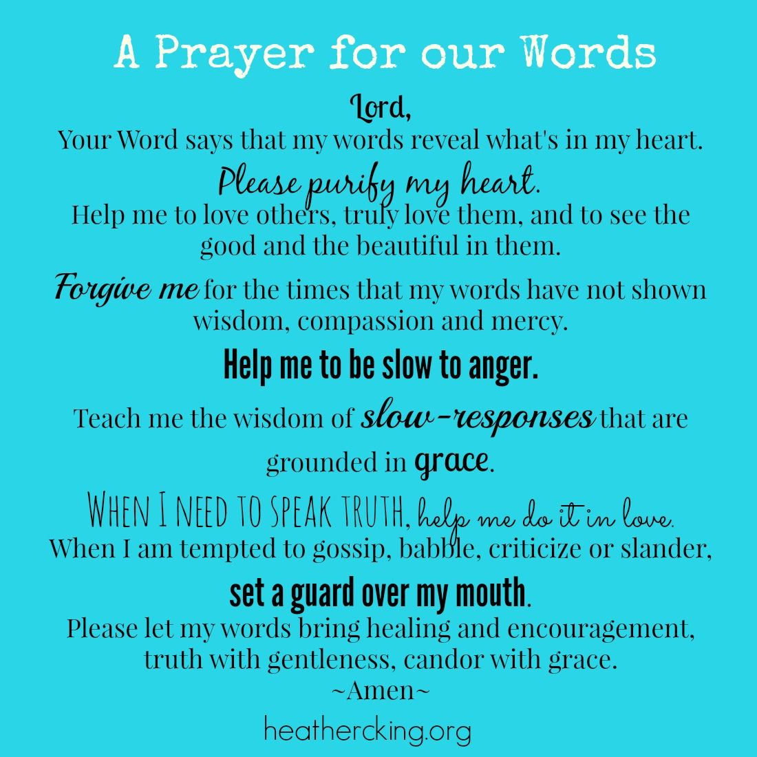 20 Bible Verses And A Prayer About Words And The Power Of