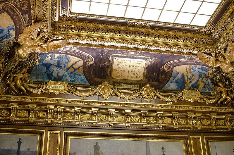 La salle d'assemblée générale. Le Palais Royal.Paris 1er