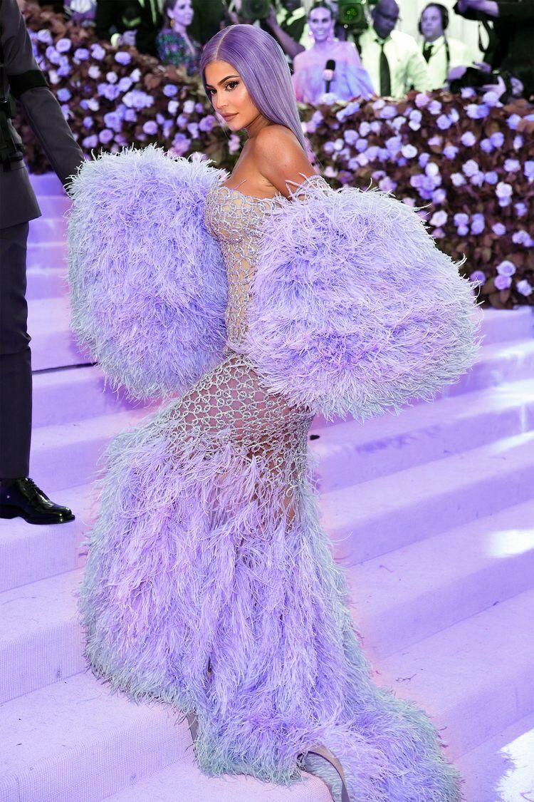 Purple Kylie Met Gala Dresses Met Gala Outfits Kylie Jenner Met Gala [ 1125 x 750 Pixel ]