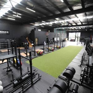 the strong room  gym setup gym decor gym design interior