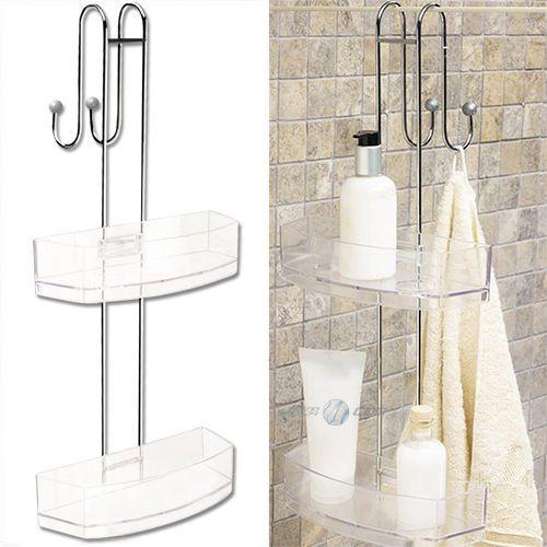 Duschregal Hängeregal Badregal Duschablage Duschkorb Ablage Regal - badezimmer regal ohne bohren