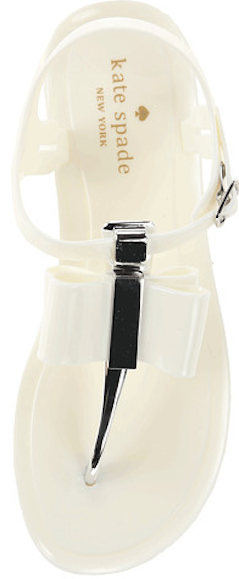 Cute bow thong sandal #katespade http://rstyle.me/n/jdztznyg6