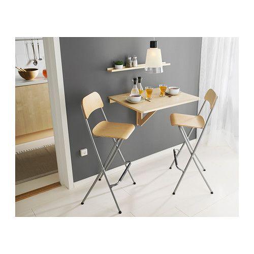 franklin tabouret de bar dossier pliant ikea vous. Black Bedroom Furniture Sets. Home Design Ideas