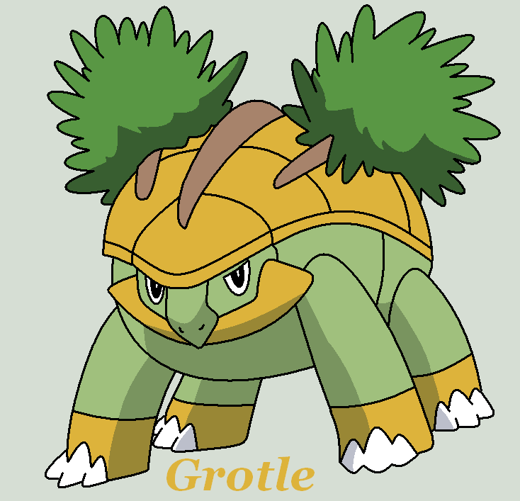 Grotle by roky320 | My favorite pokemon | Pinterest | Pokémon