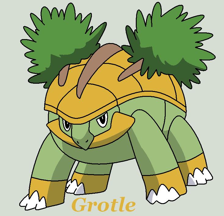Grotle By Roky320 My Favorite Pokemon Pinterest Pokémon