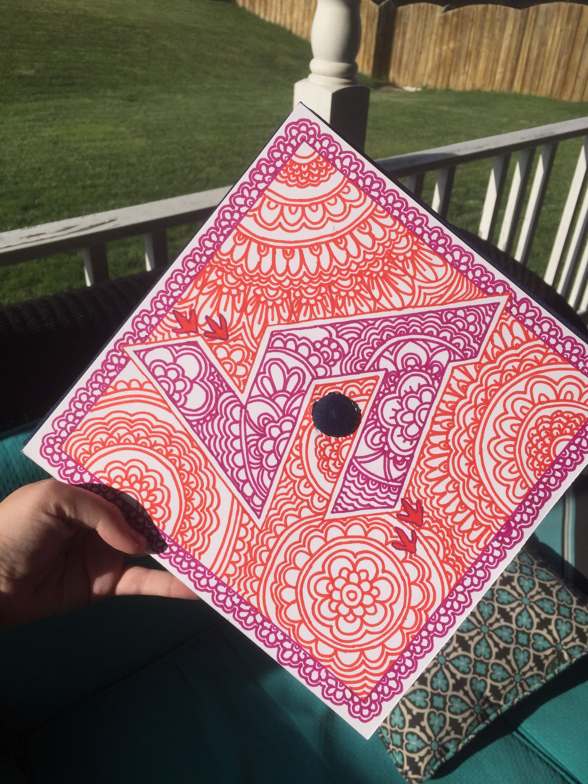 Virginia Tech Graduation Cap Graduation cap decoration