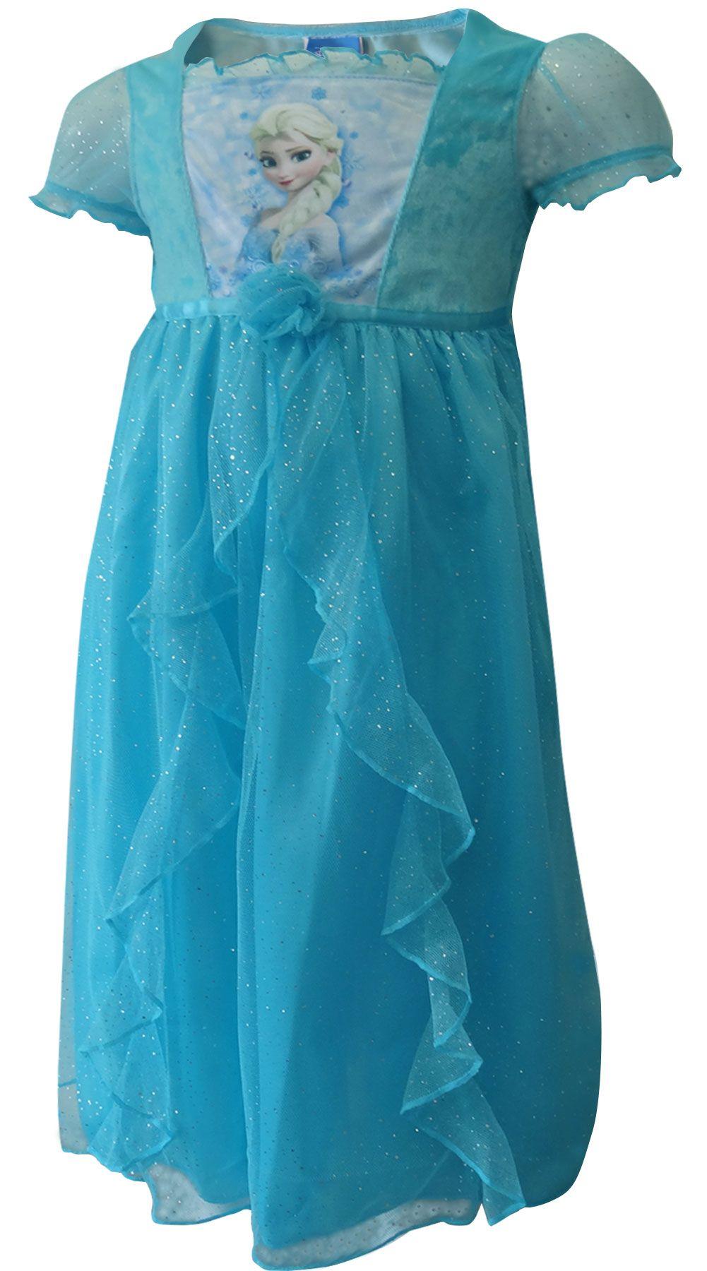 WebUndies.com Disney Frozen Princess Elsa Dress Up Toddler Nightgown ...