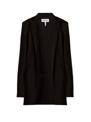 Raw-edged satin jacket | Loewe | MATCHESFASHION.COM