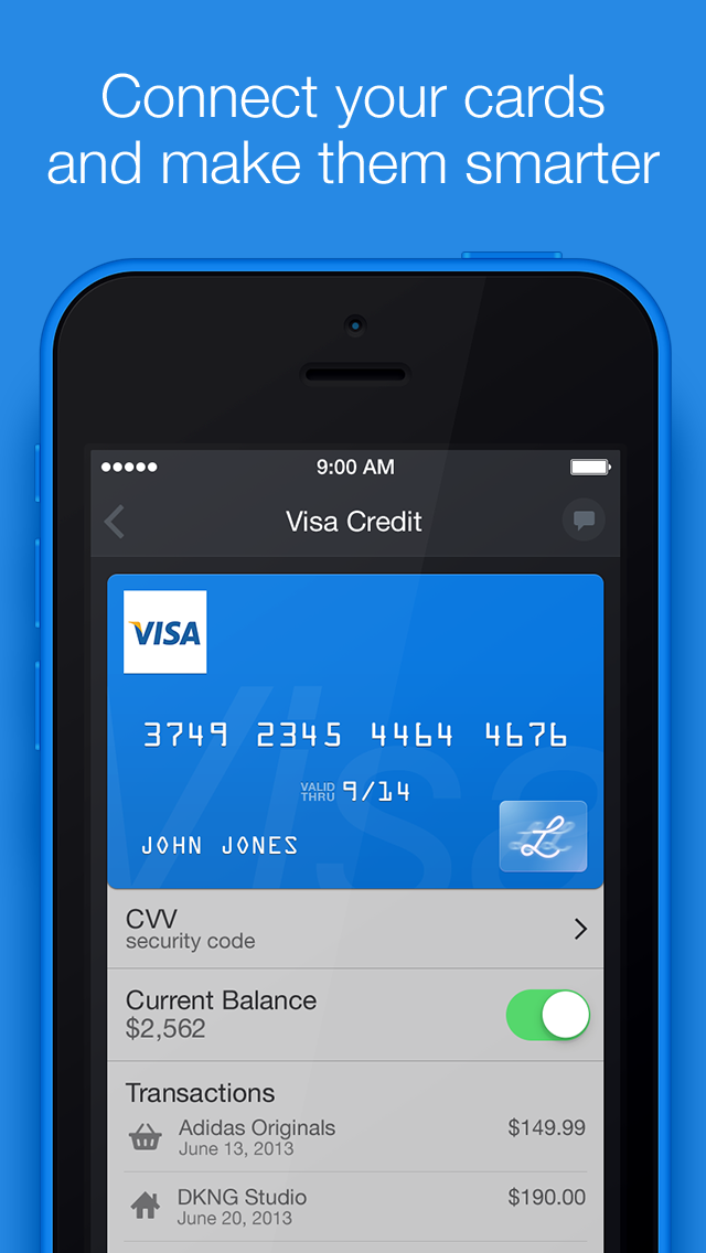Card solution example | UX | Pinterest | App ui design, Credit card ...