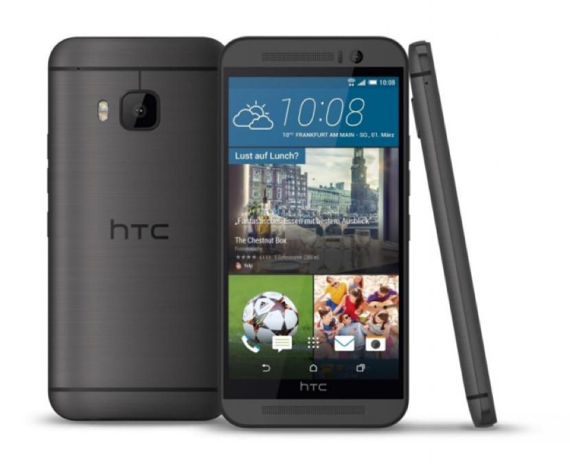 Y se filtró: así será el HTC One M9 - http://www.actualidadgadget.com/y-se-filtro-asi-sera-el-htc-one-m9/
