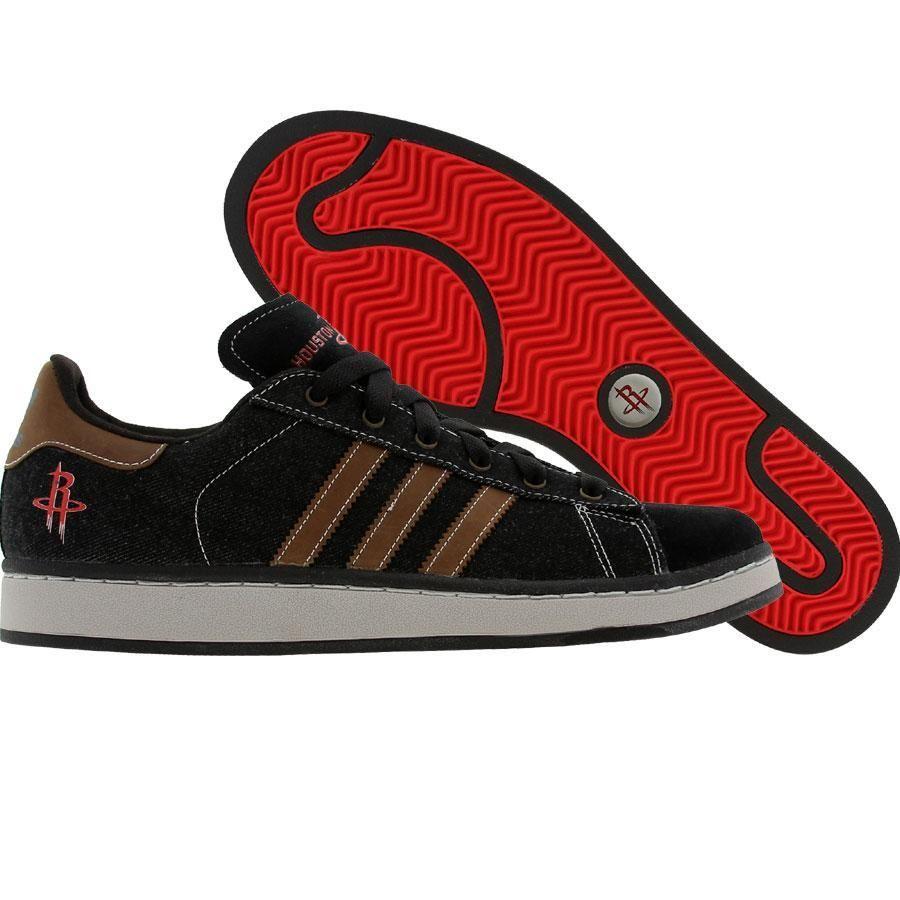 buy online 3df04 c4397 Adidas Campus II - Houston Rockets (black1 / leather ...
