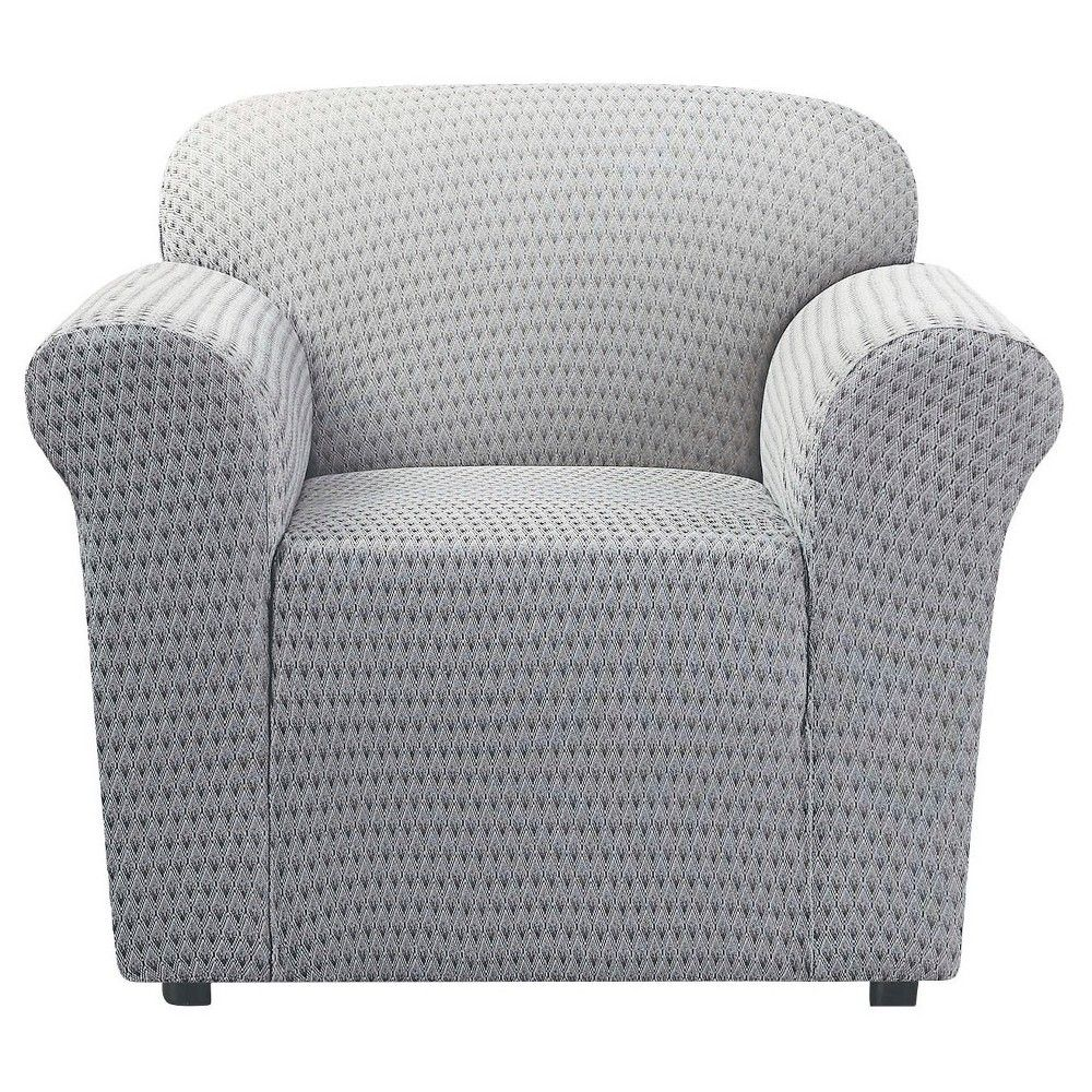 Gray birchtimber stretch sonya chair slipcover sure fit