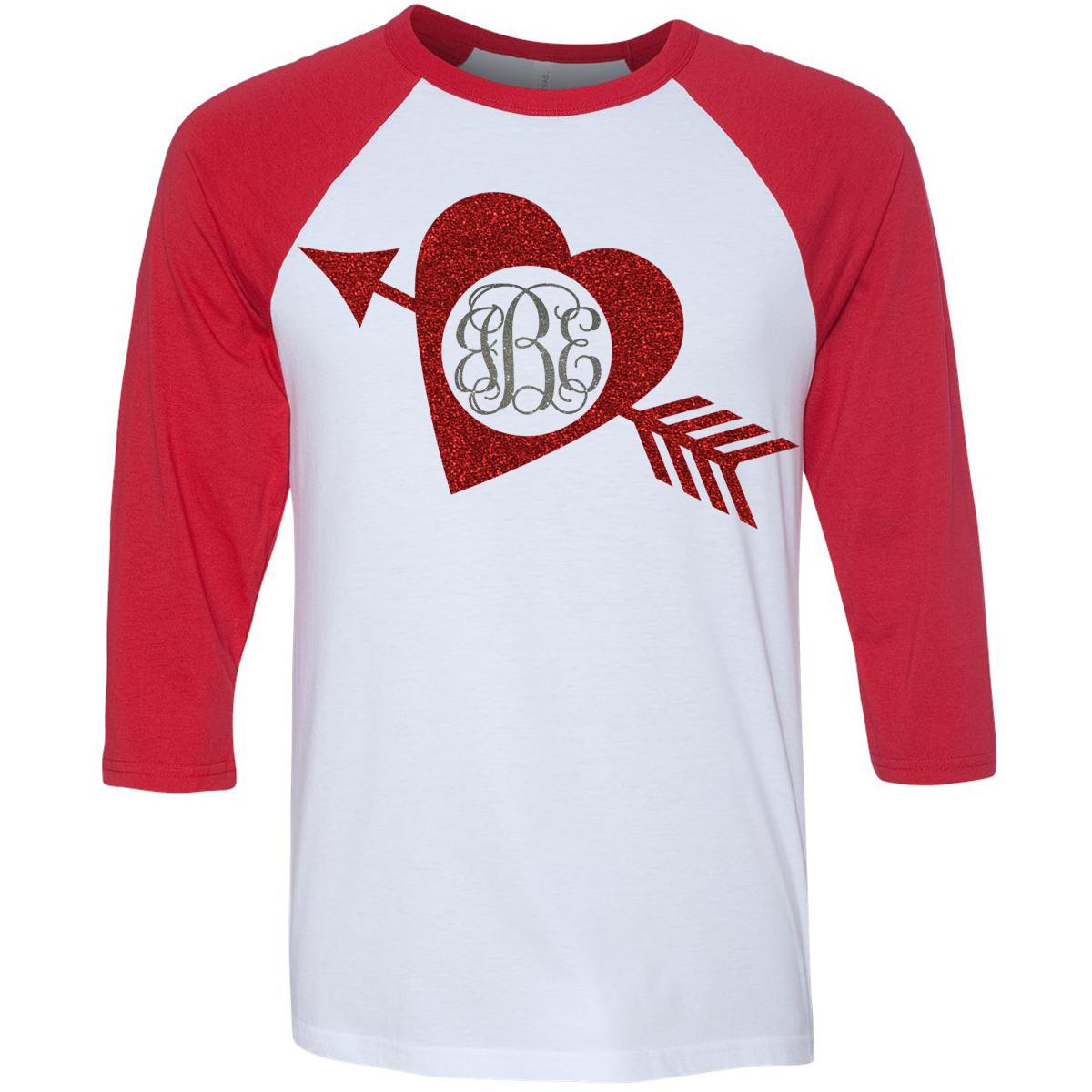 Monogrammed Valentine S Day Shirt Monogrammed Personalized Custom