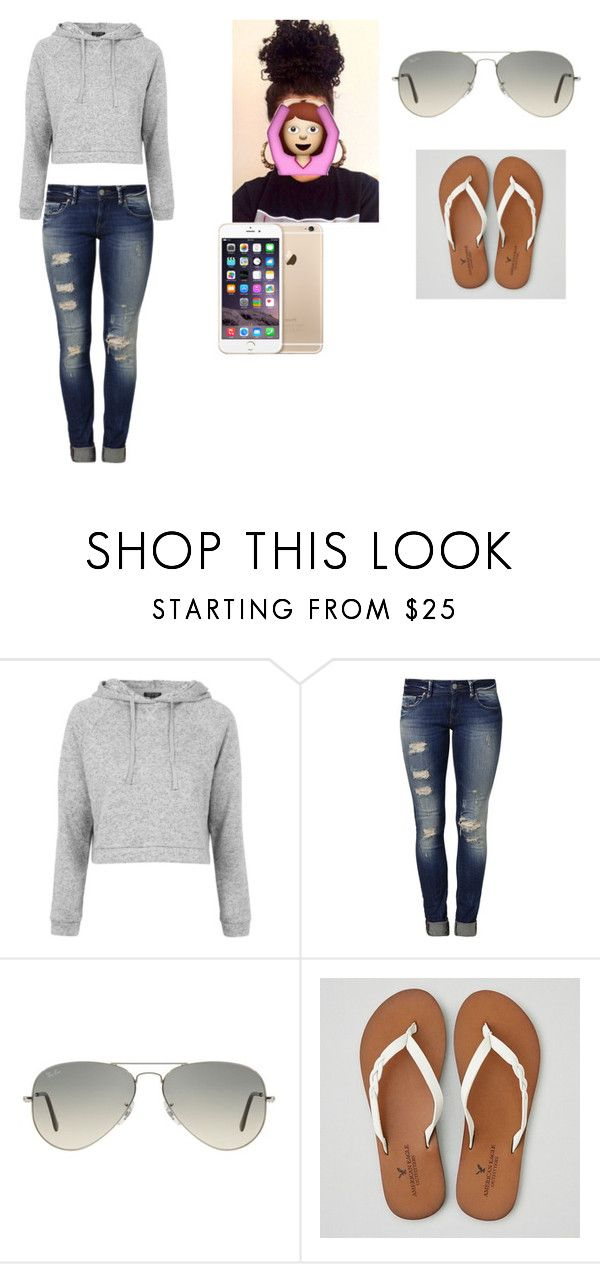 """Untitled #102"" by legerj on Polyvore featuring Topshop, Mavi, Ray-Ban and American Eagle Outfitters"