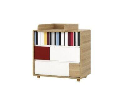 Commode 3 tiroirs chambre évolutive - Mobilier chambre à coucher
