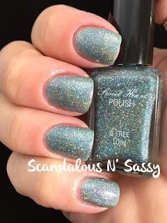 Sweet Heart Polish She Must Be a Weed