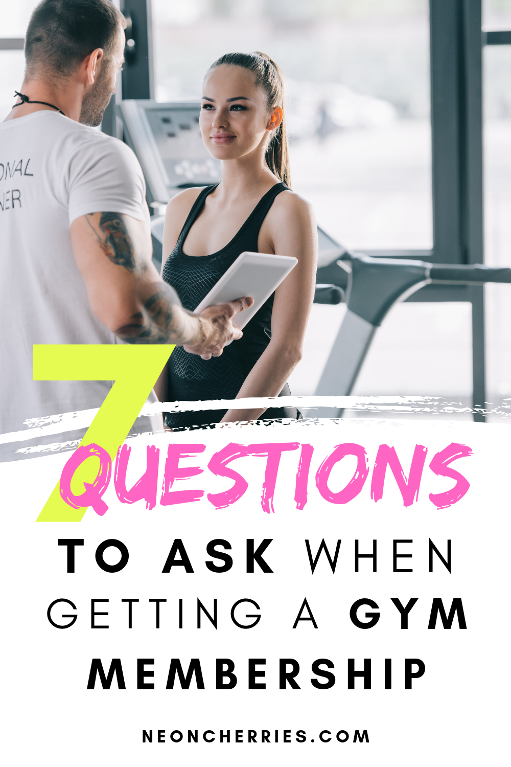 Ready To Get A Gym Membership But Want To Make Sure Its The Right Place For You Here Are 7 Questions To Ask Ab Gym Membership Workout Programs Fitness Advice