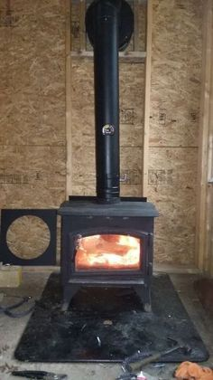 7 Things I Learned Installing An Off Grid Woodstove Diy Wood