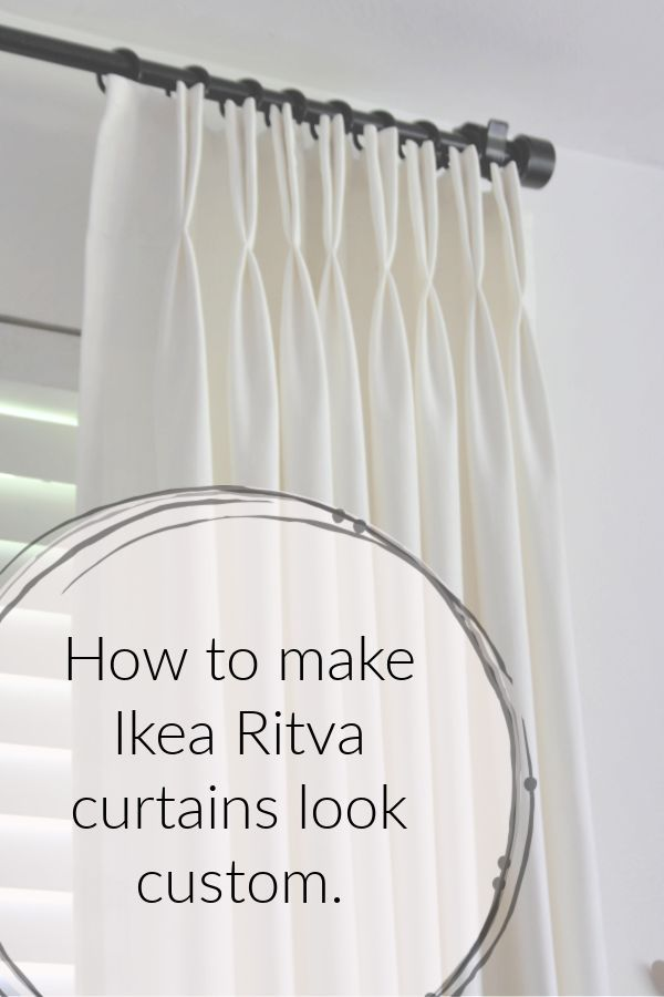 Custom D Ikea Curtains Hack