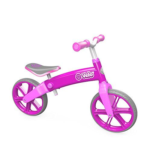Yvolution Official Y Velo Balance Bike Pink Kids Balance Bike