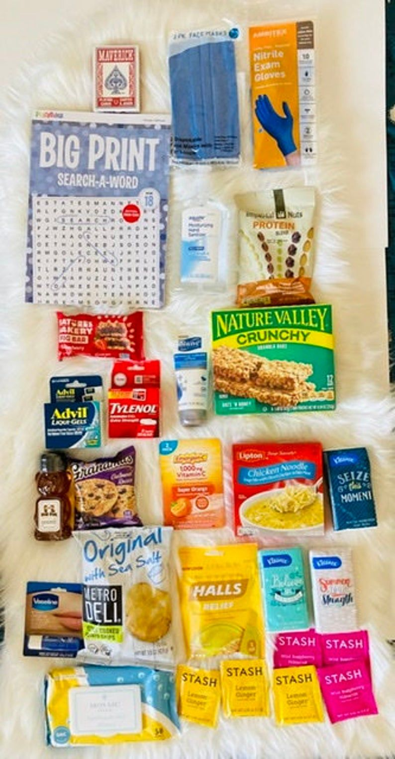 Get Well Recovery Deluxe Box Feel Better Gift Get Well Box Etsy Get Well Baskets Get Well Gift Baskets Feel Better Gifts