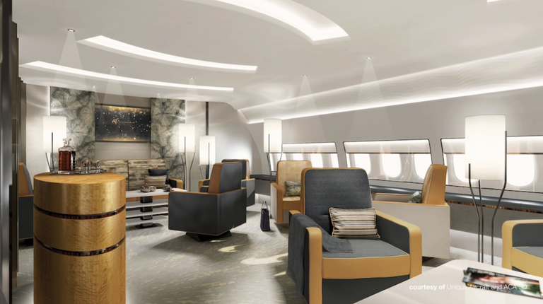 See Inside Boeing's New Jet That Is Like A Mansion In The