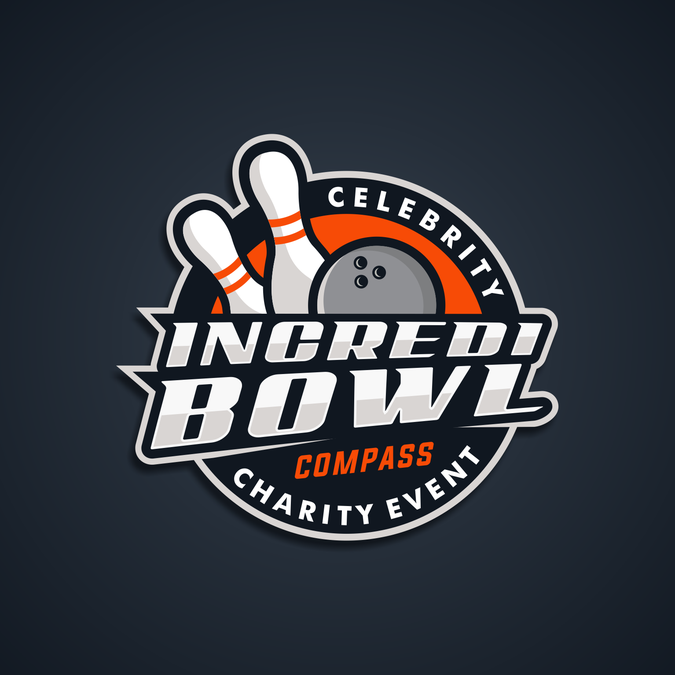 Create An Event Logo For A Charity Bowling Event By Mr Robot Logo Design Event Logo Logos